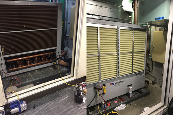 MAIN SYSTEM REPLACEMENT <br> GOLD COAST