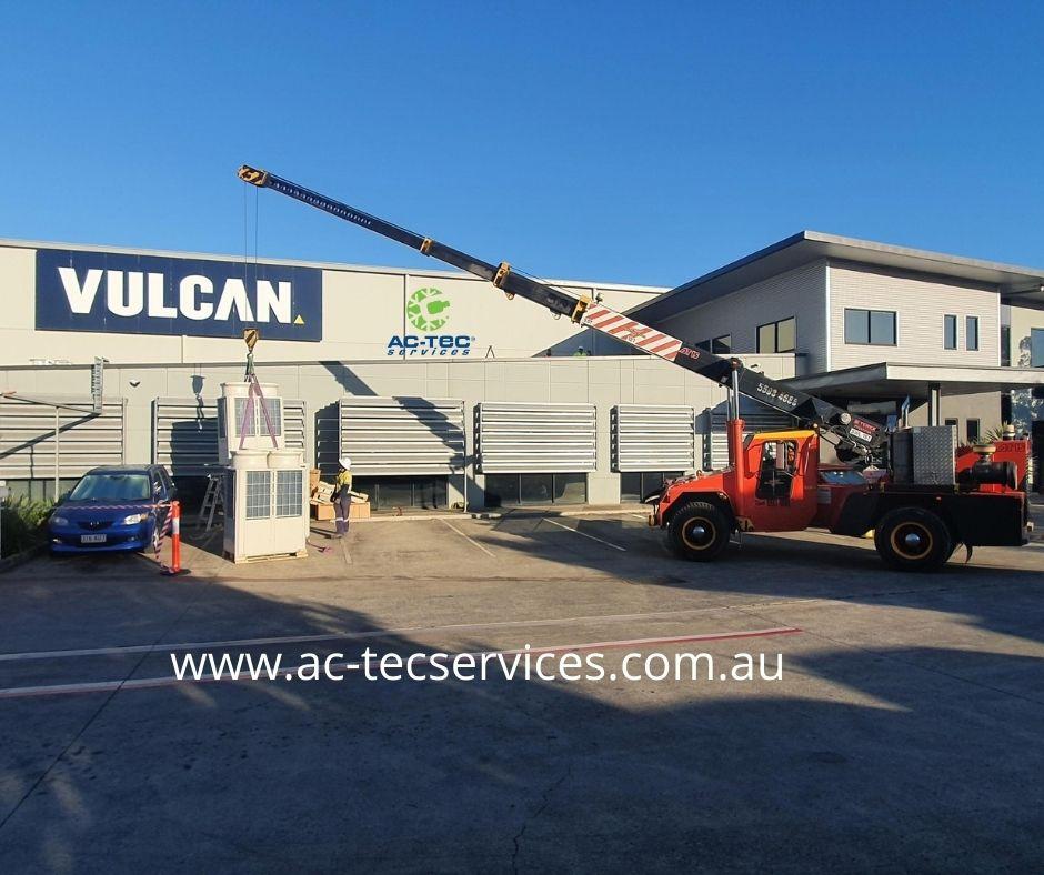 Vulcan Steel, Yatala <br> Air Conditioning Upgrade